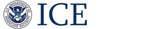 ICE Depmartment logo